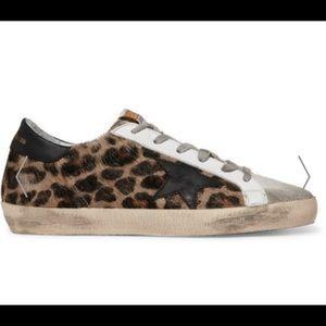 ISO Golden Goose Leopard Sneakers